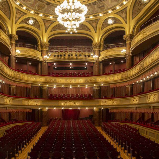 El interior del teatro
